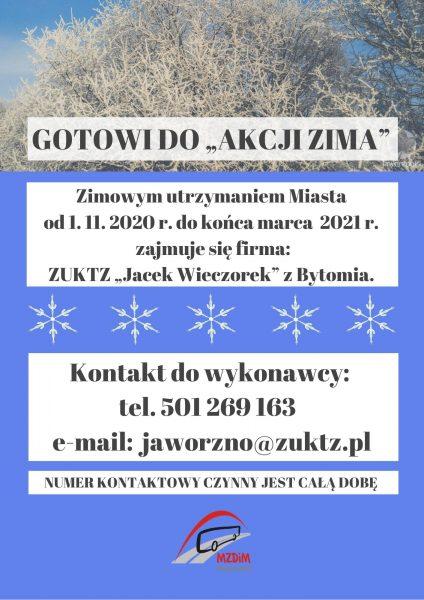 """GOTOWI DO """"AKCJI ZIMA"""""""