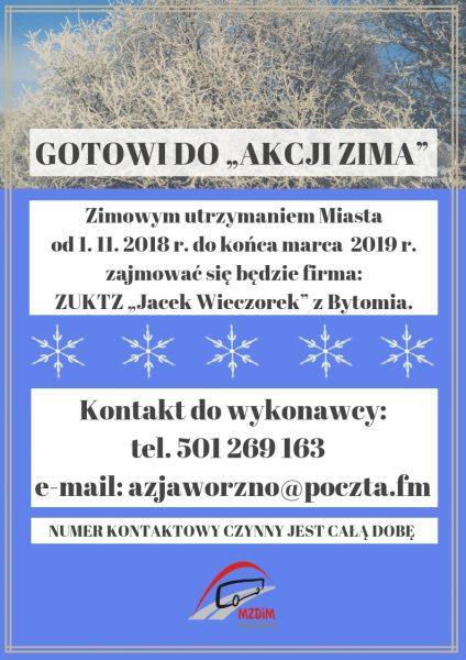 """GOTOWI DO """"AKCJI ZIMA""""(1)"""