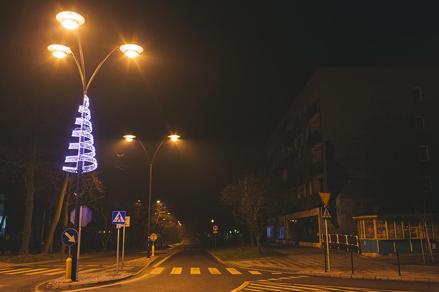 Świąteczne oświetlenie