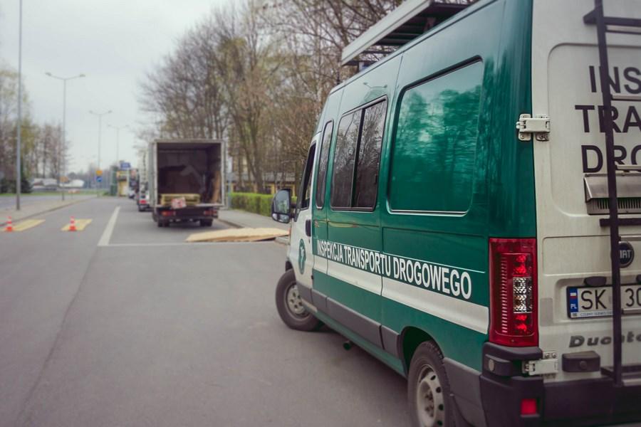 Ważenie pojazdów na terenie miasta