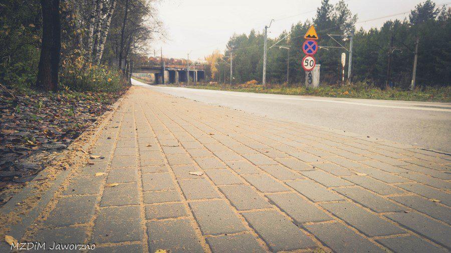Nowy chodnik wzdłuż ul. bukowskiej - od wiaduktu do wjazdu nad Zalew Sosina