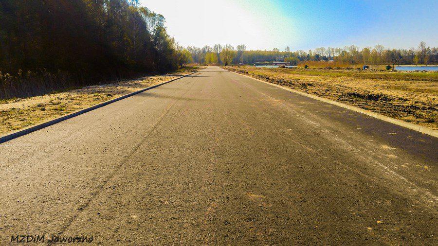 Sosina - ciąg asfaltowy