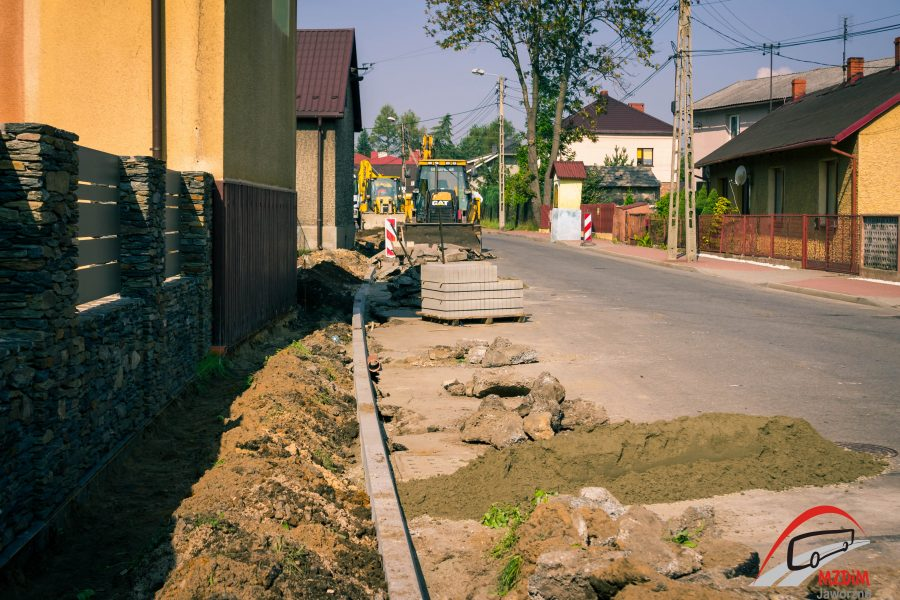 Dąbrowskiego chodnik (2 of 3)