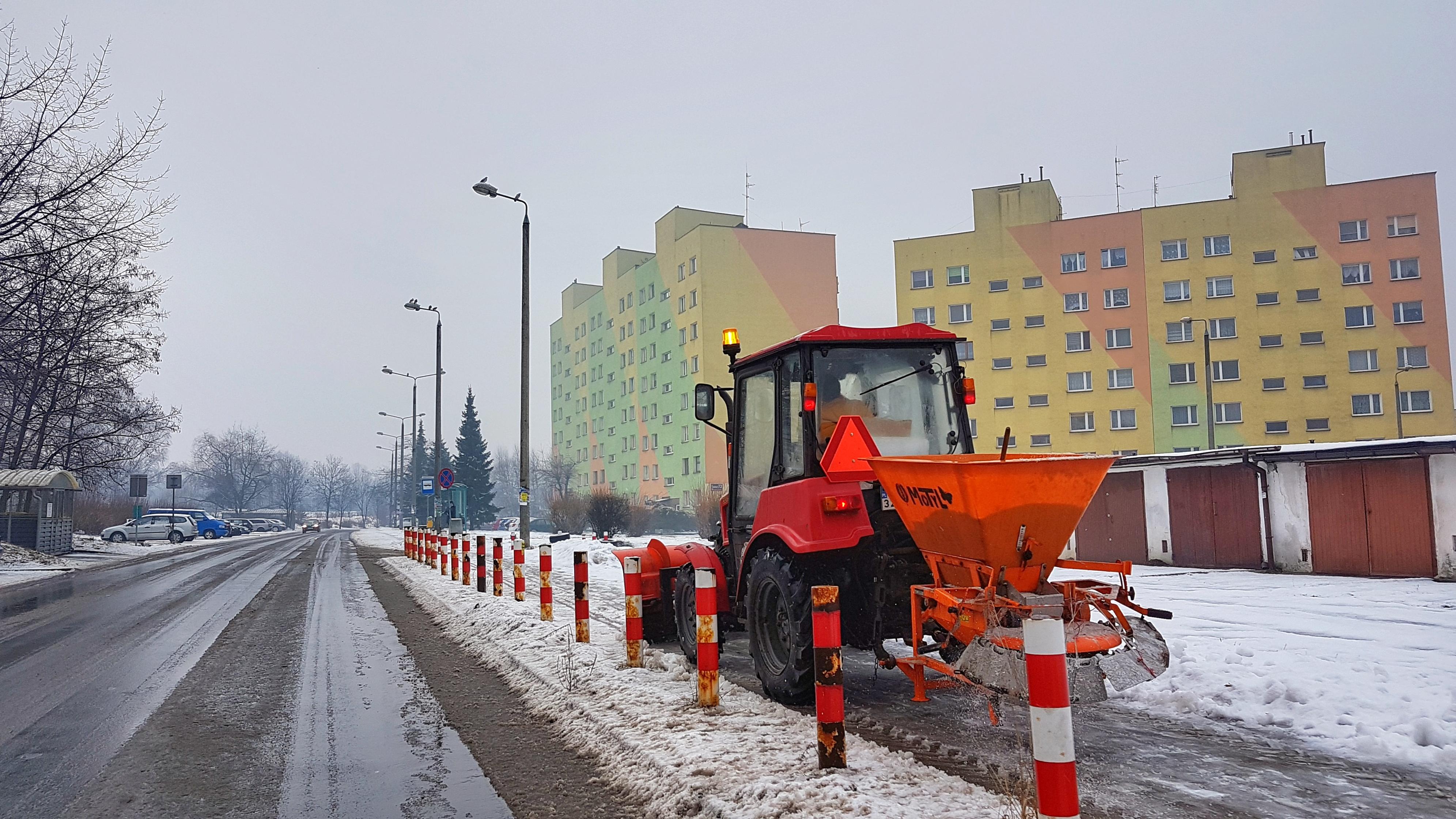 "MZDiM kontroluje ""Akcję Zima"""