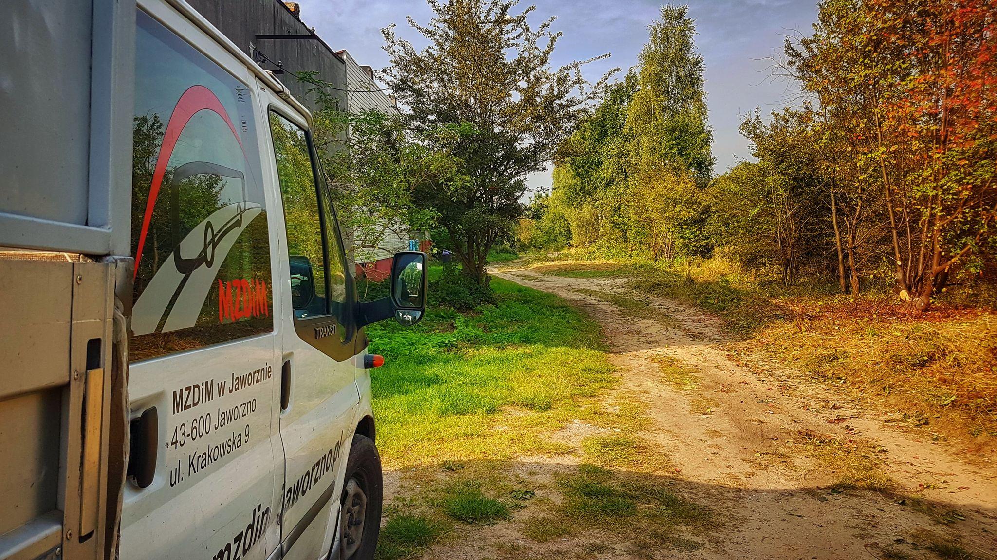 Czas Na Gruntówki – prace na bocznym odgałęzieniu ul. Wiejskiej