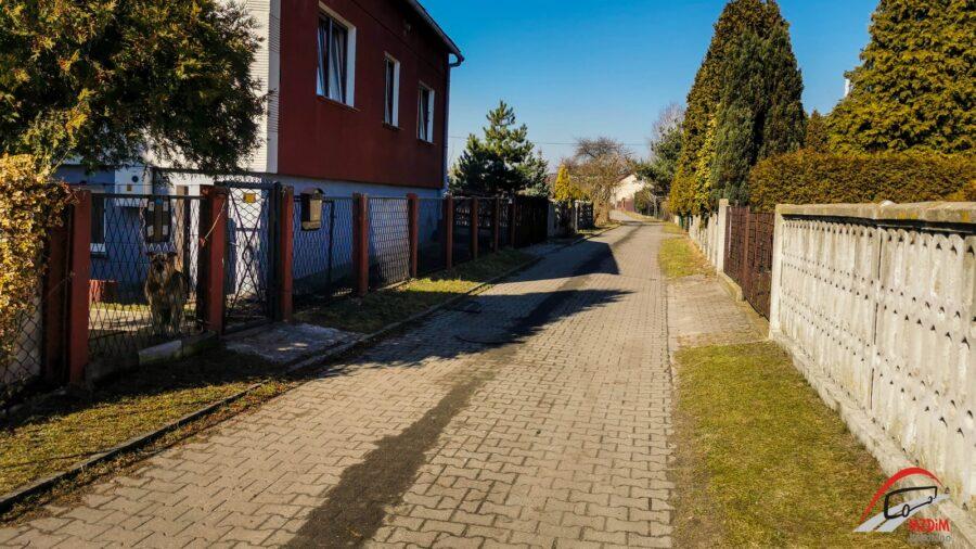 Na zdjęciu widać ulicę Bagno