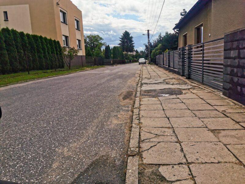 Na zdjęciu widać ulicę Emilii Plater